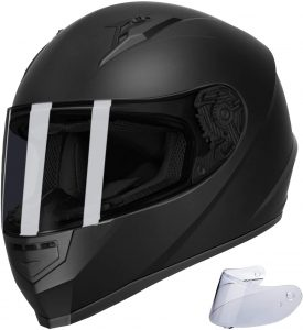 GLX Unisex-Adult GX11 Compact Lightweight Full Face Motorcycle Helmet