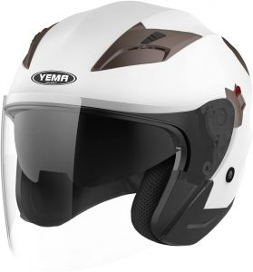 Motorcycle Open Face Helmet DOT Approved