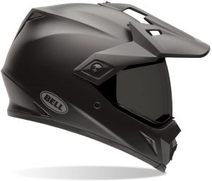 Bell Solid Men's MX-9 Adventure Dirt Bike Motorcycle Helmet