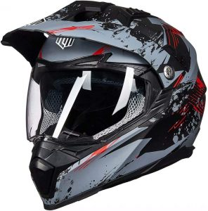 ILM Off Road Motorcycle Dual Sport Helmet