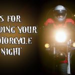 How Do Mirrored Visors On Motorcycle Helmets Help With Night Visibility
